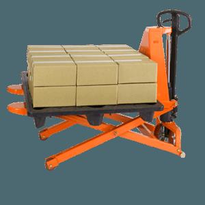 """Presto Lifts Manual Skid Lifter 27″ W 46 ¾"""" L 2500 lbs Capacity  2"""