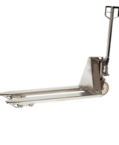 """Presto Lifts Stainless Steel Hand Pallet Truck 27"""" W x 48"""" L  5,500 Lbs. Capacity"""