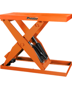 "Presto Lifts Hydraulic Standard-Duty Scissor Lift XL60 Series – 60"" Travel - 2000 Lbs. Capacity"
