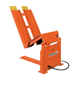Presto Lifts Stationary Container Tilter SRT40 SRT Series - 4000 Lbs. Capacity
