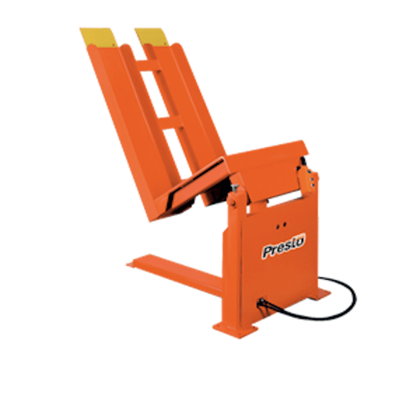 Presto Lifts Stationary Container Tilter SRT40 SRT Series – 4000 Lbs