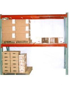 "TP Rack Universal Teardrop Rack Starter Unit 36"" D x 96"" W x 192"" H - Wire Decking Included"