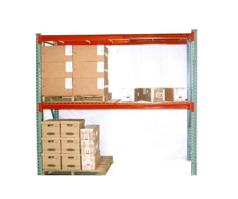 TP Rack Universal Teardrop Rack Starter Unit 48″ D x 96″ W x 144″ H – Wire Decking Included 1