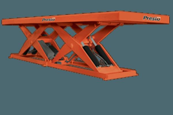 Presto Lifts Tandem Scissor Lift X4W48T Wide Base Series – 48″ Travel – 8000 Lbs