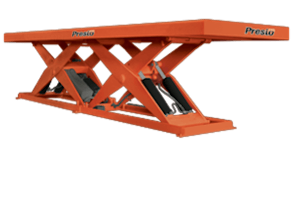 Presto Lifts Tandem Scissor Lift XL60T Series – 60″ Travel – 8000 Lbs
