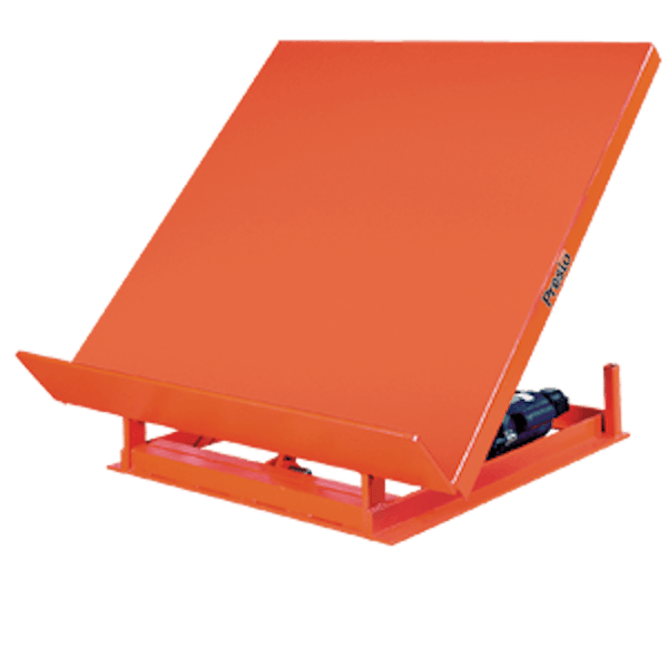 Presto Lifts Wide Base Tilt Table WT60-20 WT60 Series – 2000 Lbs