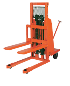 "Presto Lifts Work Positioner WPS5048-20 WPS50 Series Straddle 50"" I.D. Raised Height 48"" - 2000 Lbs. Capacity"