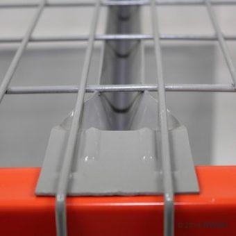 44″ D x 46″ W Wire Mesh Deck 2500 Lbs