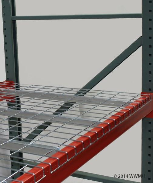 "44"" D x 52"" W Wire Mesh Deck 2500 Lbs. Capacity Standard Waterfall"