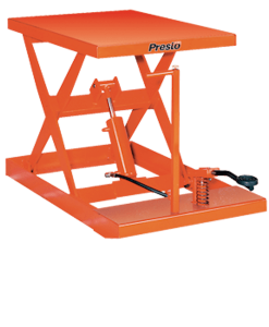 Presto Lifts Light-Duty Manual Scissor Lift Table XF24-20 - XF24 Series - 2000 Lbs. Capacity