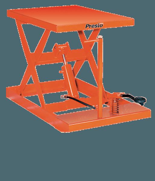 Presto Lifts Light-Duty Manual Scissor Lift Table XF36-10 – XF36 Series – 1000 Lbs