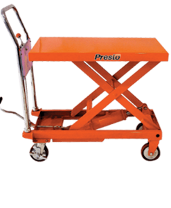"Prest Lifts Manual Foot Pump Portable Lift XP24-10 - XP24 Series - 24"" Travel - 1000 Lbs. Capacity"
