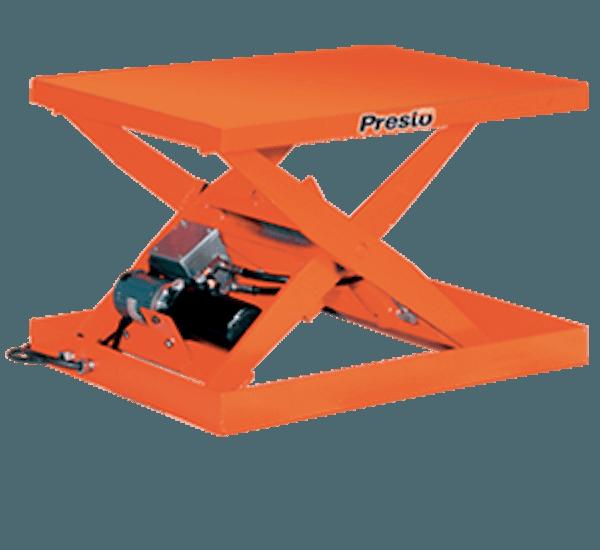 Presto Lift Tables : Presto lifts light duty electric scissor lift table wxs