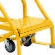 5 Step – Heavy-Duty Steel Warehouse Rolling Ladder 2