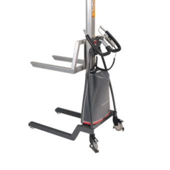 "Presto Lifts LiftStik™ Standard Transporter Powered 23 ½"" W x 18 ½"" L Raised Height 56″ 185 Lbs"