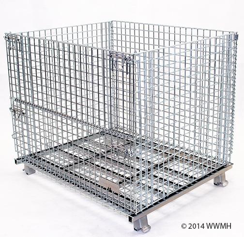 """Medium Wire Basket - 32"""" D x 40"""" W x 34"""" H"""