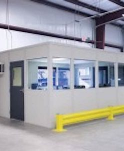 12' X 14' SS3000-DL X 8' TALL FOUR WALL, NON-LOAD BEARING IN-PLANT BUILDING