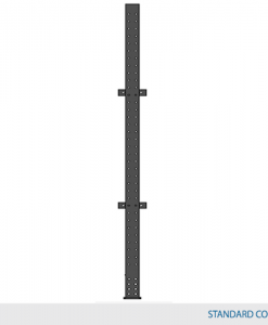 Single-Sided Type 1 Column 16'H w/ 8,000 lbs max load capacity (W12 X 16 column with W12 x 16 base)