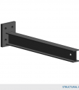 """Type 1 Arm 48""""L w/ 1,000 lbs max load capacity (4""""MD Structural I-Beam Profile Arm / 1.5° incline)"""