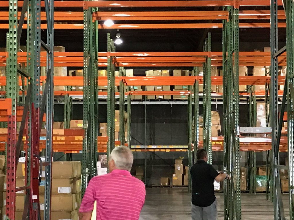 Warehouse liquidation