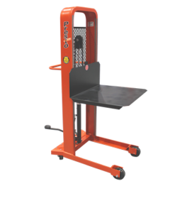 "Presto Lifts Manual Lift Stacker M378 M300 Series Platform (32""W x 30""L) - Raised Height 78"""
