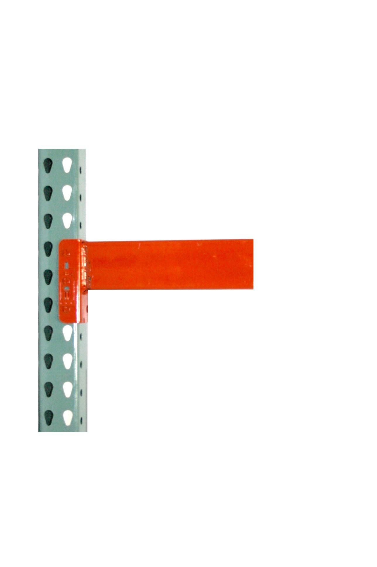"TP Rack Teardrop Pallet Rack Starter Unit 48""D x 96""W x 288""H - Wire Decking Included"